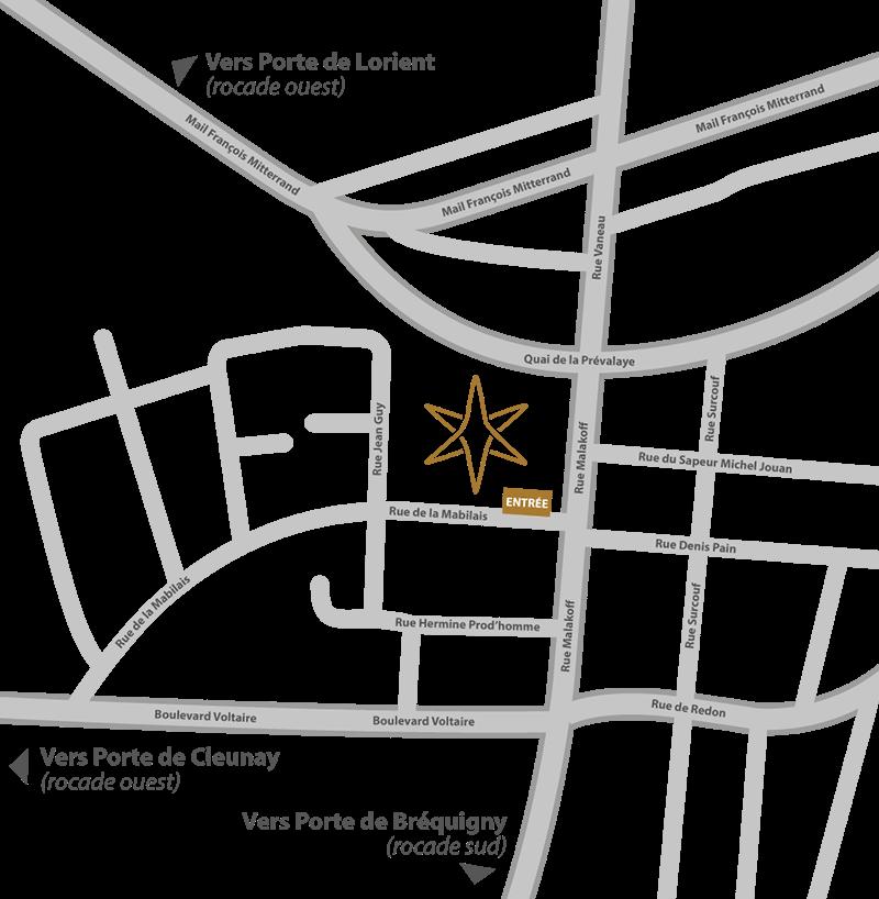 Plan d'accès 2